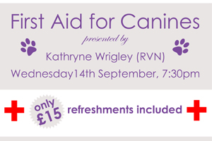 Canine First Aid Talk