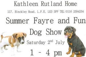 KDT attending Summer Fayre and Fun Dog Show