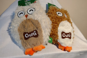 Squeaky Pet Toys Owls