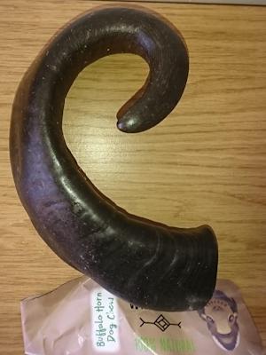 Buffalo Horn Dog Chew (large)