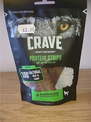 Protein Strips Beef with Lamb