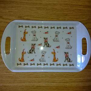 Faithful Friends Serving Tray