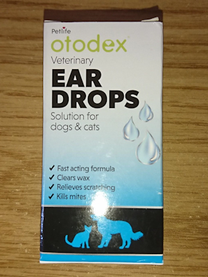 Otodex Veterinary Ear Drops
