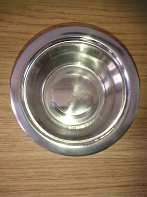 Stainless Steel Dog Bowl 13cm