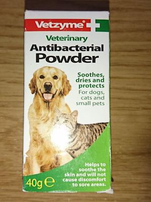 Veterinary Antibacterial Powder